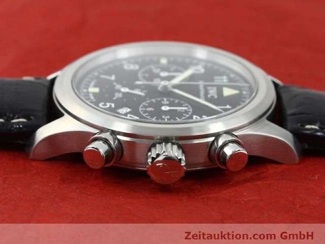 Used luxury watch IWC Fliegerchronograph steel quartz Kal. 630 Ref. 3741  | 140069 05