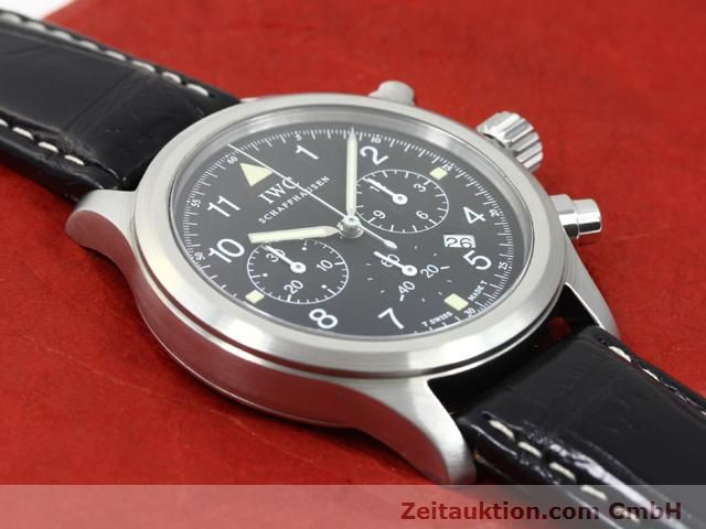 Used luxury watch IWC Fliegerchronograph steel quartz Kal. 630 Ref. 3741  | 140069 12