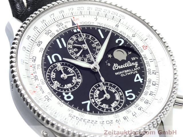 Used luxury watch Breitling Montbrillant steel automatic Kal. ETA 2892A2 Ref. A19350  | 140071 02