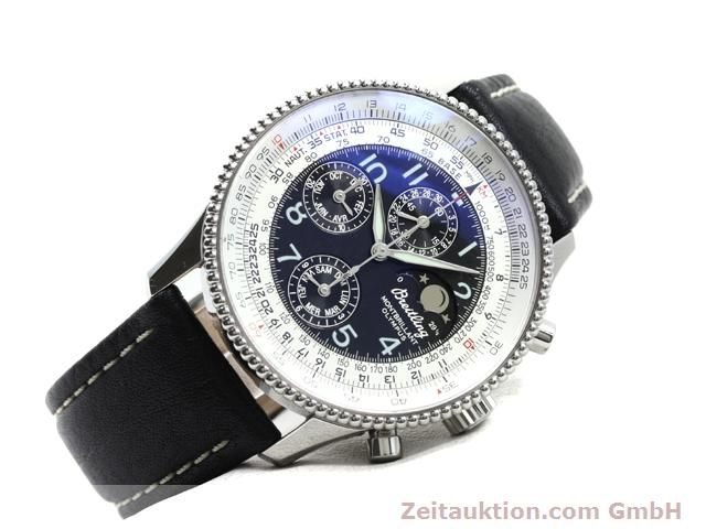Used luxury watch Breitling Montbrillant steel automatic Kal. ETA 2892A2 Ref. A19350  | 140071 03