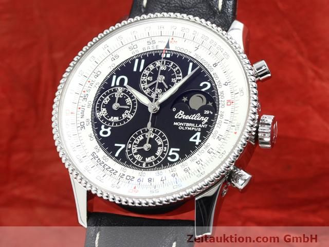 Used luxury watch Breitling Montbrillant steel automatic Kal. ETA 2892A2 Ref. A19350  | 140071 04