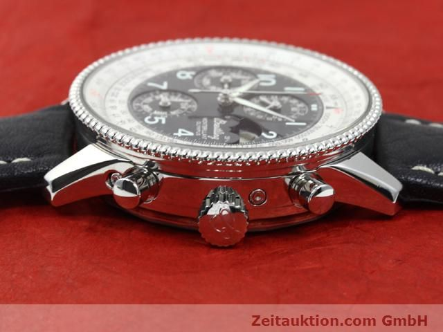 Used luxury watch Breitling Montbrillant steel automatic Kal. ETA 2892A2 Ref. A19350  | 140071 05