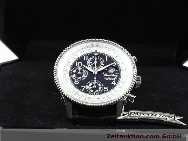 Used luxury watch Breitling Montbrillant steel automatic Kal. ETA 2892A2 Ref. A19350  | 140071 07