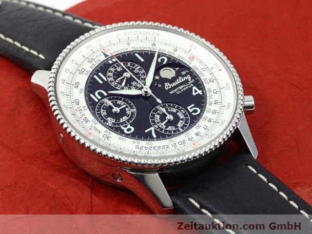 Used luxury watch Breitling Montbrillant steel automatic Kal. ETA 2892A2 Ref. A19350  | 140071 15
