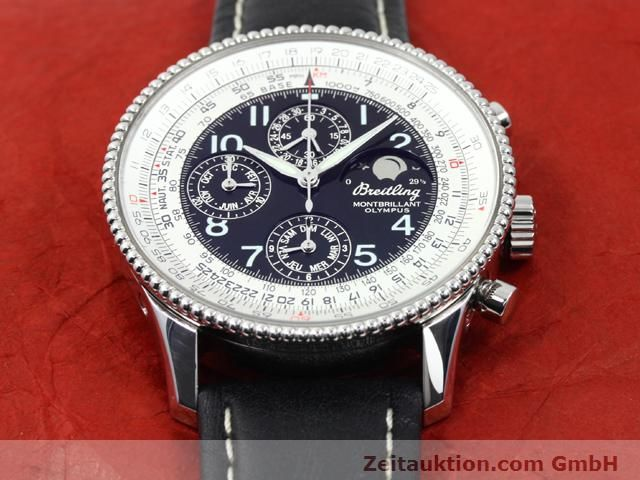 Used luxury watch Breitling Montbrillant steel automatic Kal. ETA 2892A2 Ref. A19350  | 140071 16