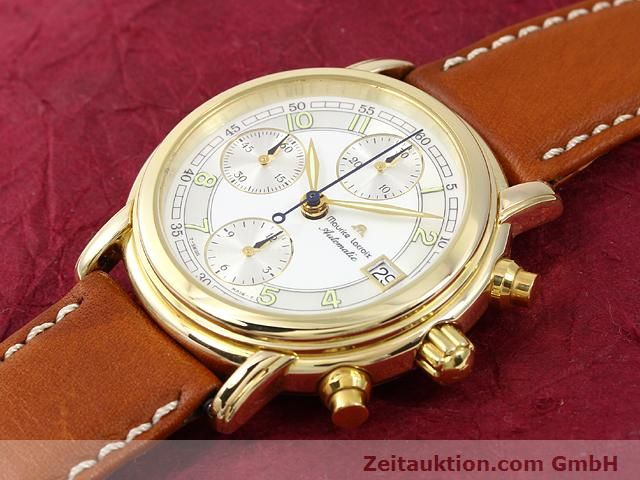 Used luxury watch Maurice Lacroix Croneo gold-plated automatic Kal. ETA 7750 Ref. 03700  | 140072 01
