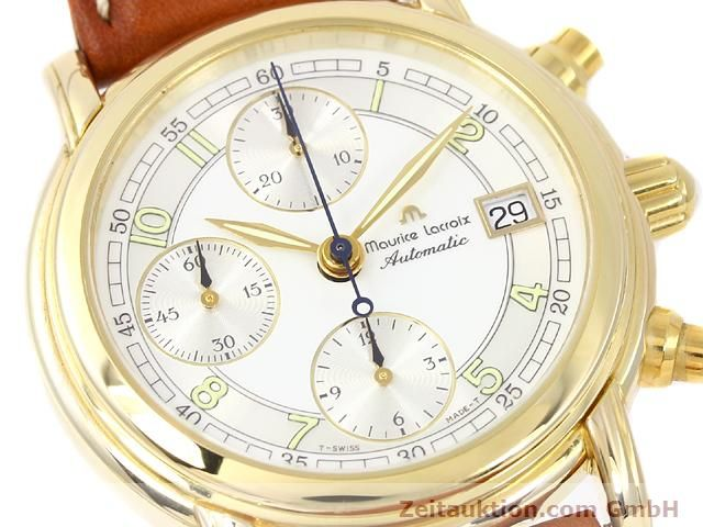 Used luxury watch Maurice Lacroix Croneo gold-plated automatic Kal. ETA 7750 Ref. 03700  | 140072 02