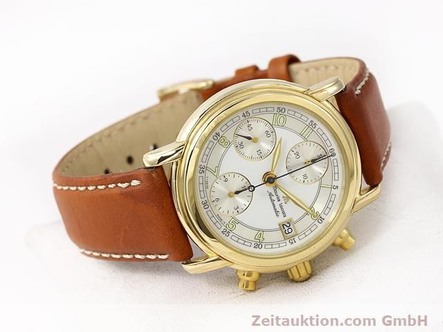 Used luxury watch Maurice Lacroix Croneo gold-plated automatic Kal. ETA 7750 Ref. 03700  | 140072 03