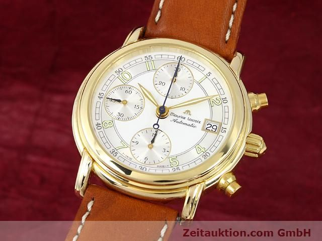 Used luxury watch Maurice Lacroix Croneo gold-plated automatic Kal. ETA 7750 Ref. 03700  | 140072 04
