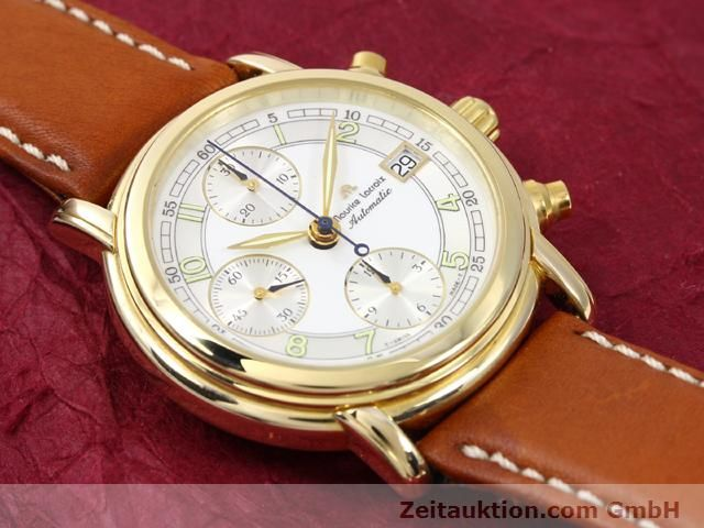 Used luxury watch Maurice Lacroix Croneo gold-plated automatic Kal. ETA 7750 Ref. 03700  | 140072 12