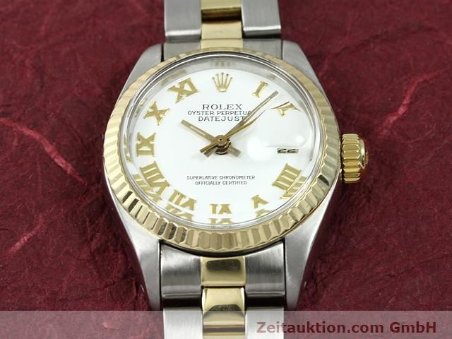 montre de luxe d occasion Rolex Lady Datejust acier / or  automatique Kal. 2030 Ref. 6917  | 140077 02