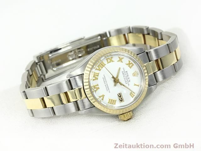 montre de luxe d occasion Rolex Lady Datejust acier / or  automatique Kal. 2030 Ref. 6917  | 140077 03