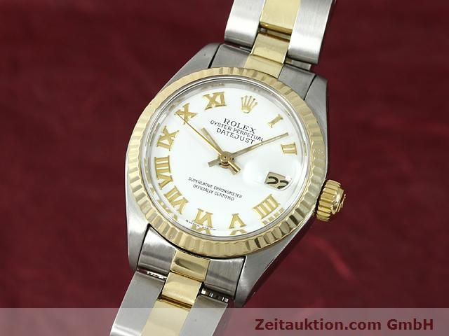 montre de luxe d occasion Rolex Lady Datejust acier / or  automatique Kal. 2030 Ref. 6917  | 140077 04