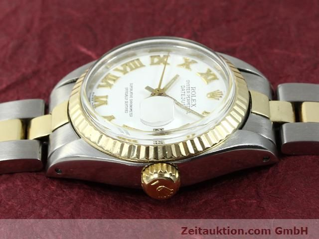 Used luxury watch Rolex Lady Datejust steel / gold automatic Kal. 2030 Ref. 6917  | 140077 05