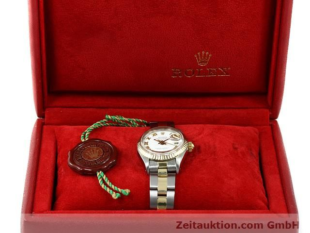 montre de luxe d occasion Rolex Lady Datejust acier / or  automatique Kal. 2030 Ref. 6917  | 140077 07