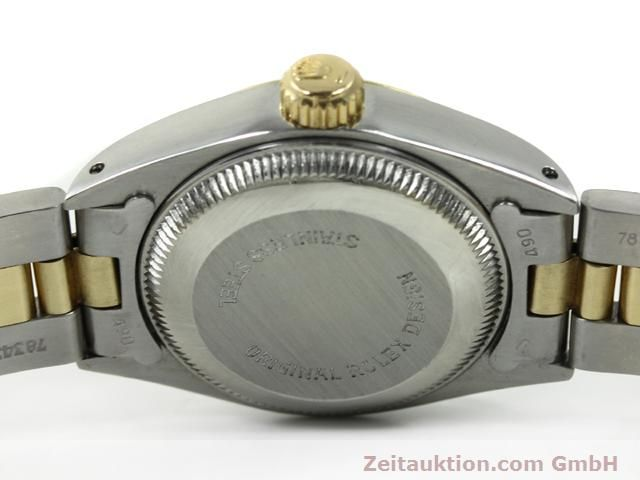 montre de luxe d occasion Rolex Lady Datejust acier / or  automatique Kal. 2030 Ref. 6917  | 140077 09