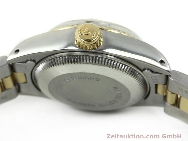 montre de luxe d occasion Rolex Lady Datejust acier / or  automatique Kal. 2030 Ref. 6917  | 140077 11