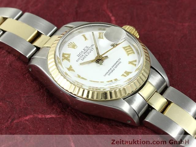 montre de luxe d occasion Rolex Lady Datejust acier / or  automatique Kal. 2030 Ref. 6917  | 140077 14