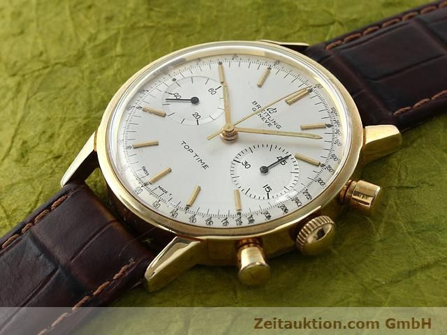 Used luxury watch Breitling Top Time gold-plated manual winding Kal. Venus 188  | 140079 01