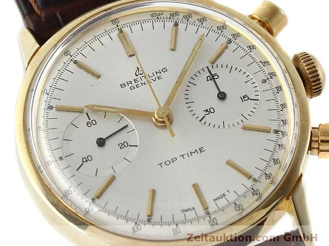 Used luxury watch Breitling Top Time gold-plated manual winding Kal. Venus 188  | 140079 02