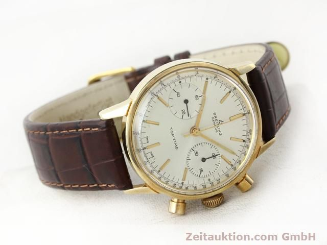 Used luxury watch Breitling Top Time gold-plated manual winding Kal. Venus 188  | 140079 03