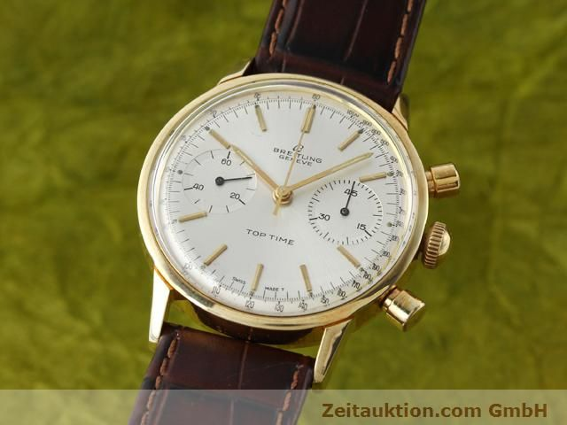 Used luxury watch Breitling Top Time gold-plated manual winding Kal. Venus 188  | 140079 04