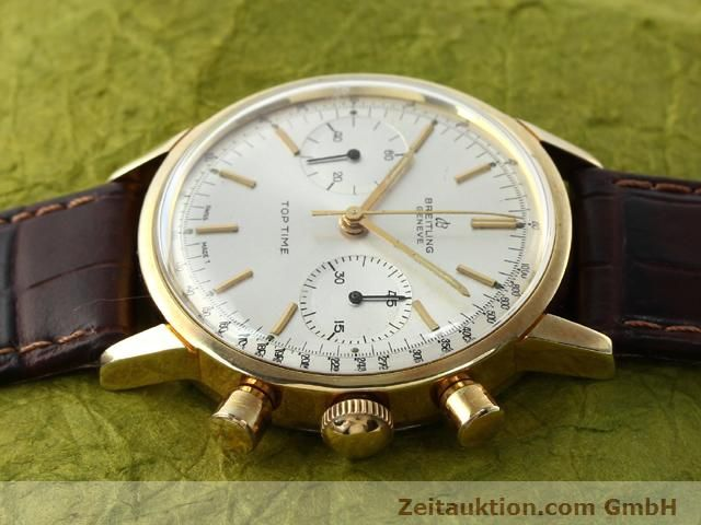 Used luxury watch Breitling Top Time gold-plated manual winding Kal. Venus 188  | 140079 05