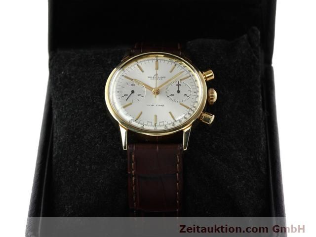 Used luxury watch Breitling Top Time gold-plated manual winding Kal. Venus 188  | 140079 07