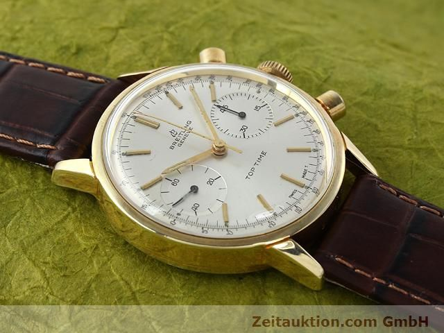 Used luxury watch Breitling Top Time gold-plated manual winding Kal. Venus 188  | 140079 12