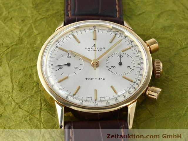 Used luxury watch Breitling Top Time gold-plated manual winding Kal. Venus 188  | 140079 13