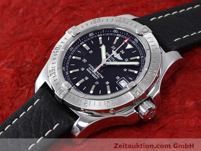 Used luxury watch Breitling Colt steel automatic Kal. ETA 2824-2 Ref. A17380  | 140083 01