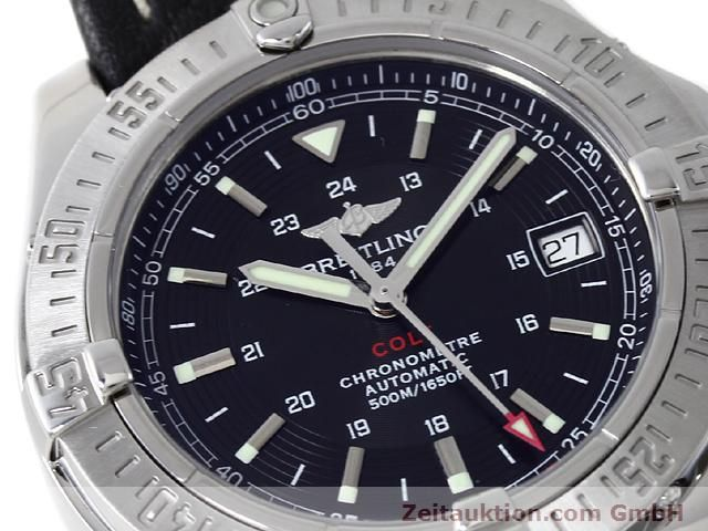Used luxury watch Breitling Colt steel automatic Kal. ETA 2824-2 Ref. A17380  | 140083 02