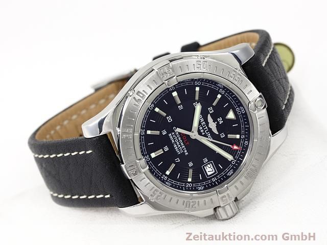 Used luxury watch Breitling Colt steel automatic Kal. ETA 2824-2 Ref. A17380  | 140083 03