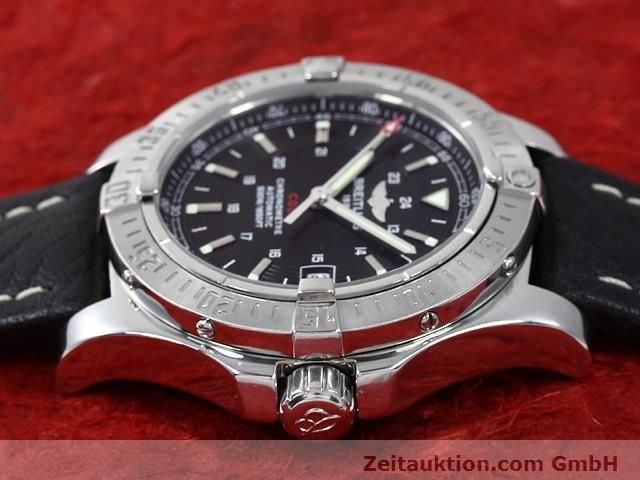Used luxury watch Breitling Colt steel automatic Kal. ETA 2824-2 Ref. A17380  | 140083 05