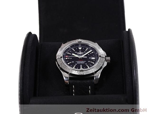 Used luxury watch Breitling Colt steel automatic Kal. ETA 2824-2 Ref. A17380  | 140083 07