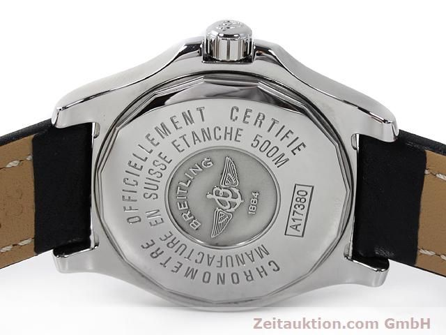 Used luxury watch Breitling Colt steel automatic Kal. ETA 2824-2 Ref. A17380  | 140083 09