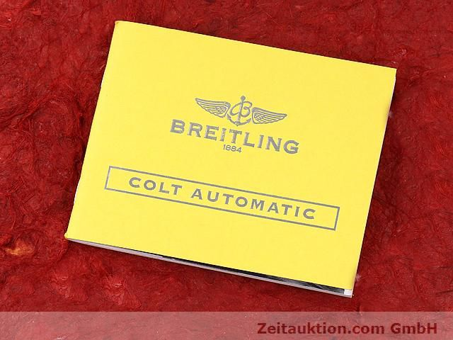Used luxury watch Breitling Colt steel automatic Kal. ETA 2824-2 Ref. A17380  | 140083 13