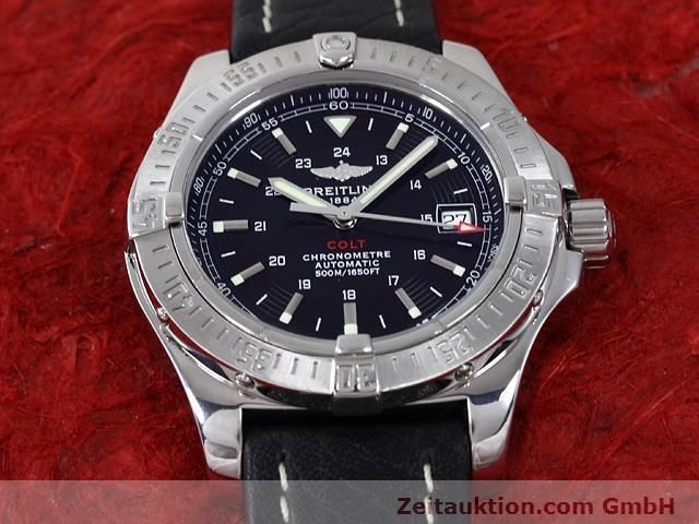 Used luxury watch Breitling Colt steel automatic Kal. ETA 2824-2 Ref. A17380  | 140083 17