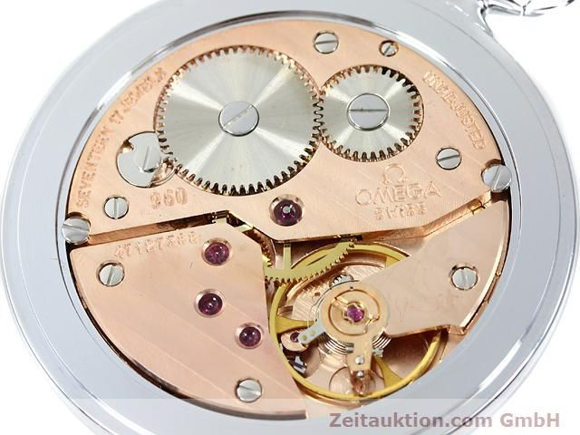 Used luxury watch Omega Taschenuhr steel manual winding Kal. 960  | 140085 09