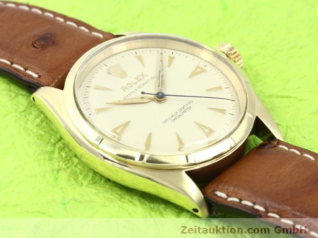 Used luxury watch Rolex Oyster Perpetual 14 ct yellow gold automatic Kal. 645 Ref. 6285  | 140089 14