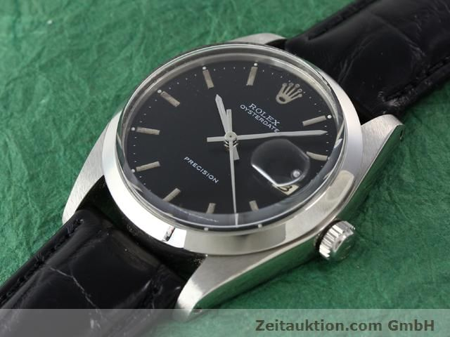 Used luxury watch Rolex Precision steel manual winding Kal. 1210 Ref. 6694  | 140095 01