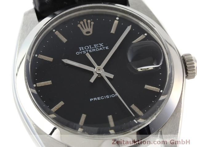 Used luxury watch Rolex Precision steel manual winding Kal. 1210 Ref. 6694  | 140095 02