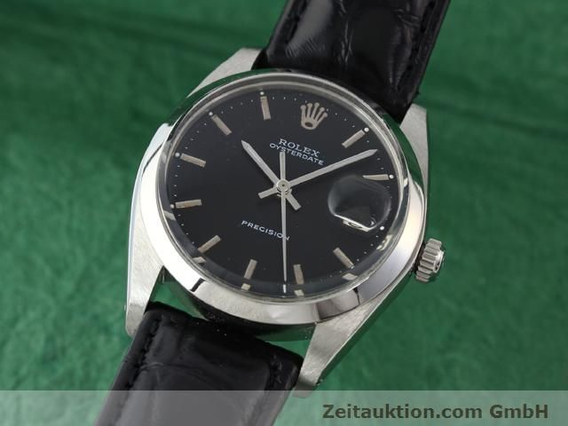 Used luxury watch Rolex Precision steel manual winding Kal. 1210 Ref. 6694  | 140095 04
