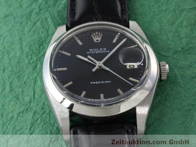 Used luxury watch Rolex Precision steel manual winding Kal. 1210 Ref. 6694  | 140095 13