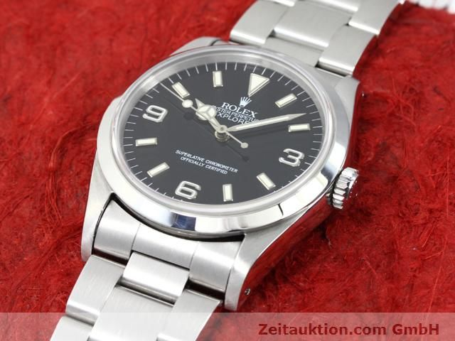 Used luxury watch Rolex Explorer steel automatic Kal. 3000 Ref. 14270  | 140097 01