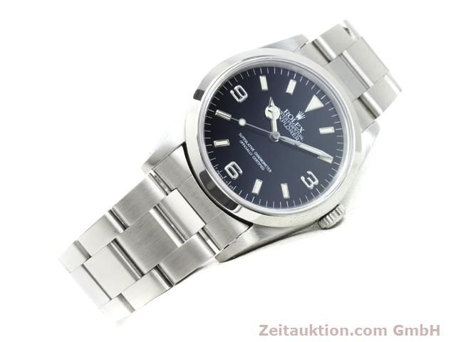 Used luxury watch Rolex Explorer steel automatic Kal. 3000 Ref. 14270  | 140097 03