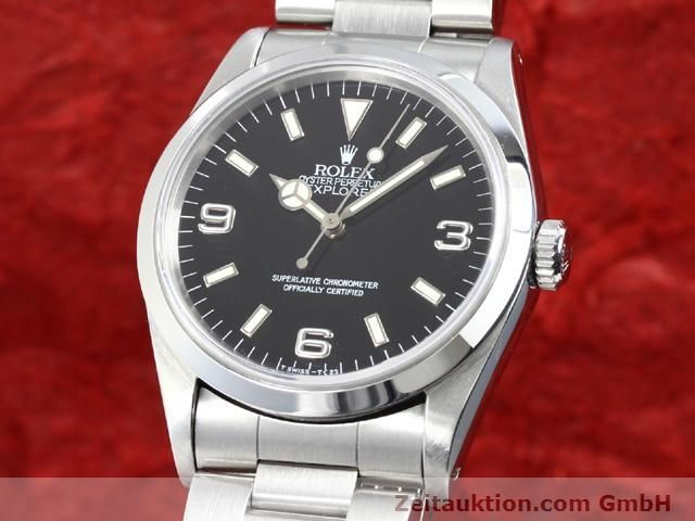 Used luxury watch Rolex Explorer steel automatic Kal. 3000 Ref. 14270  | 140097 04