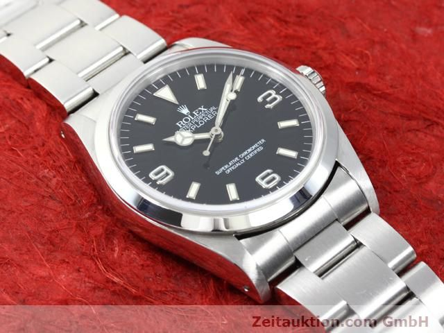 Used luxury watch Rolex Explorer steel automatic Kal. 3000 Ref. 14270  | 140097 15