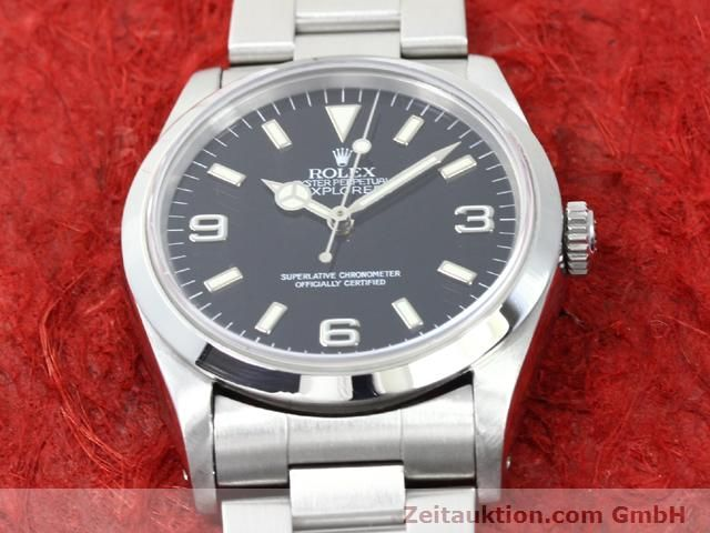Used luxury watch Rolex Explorer steel automatic Kal. 3000 Ref. 14270  | 140097 16