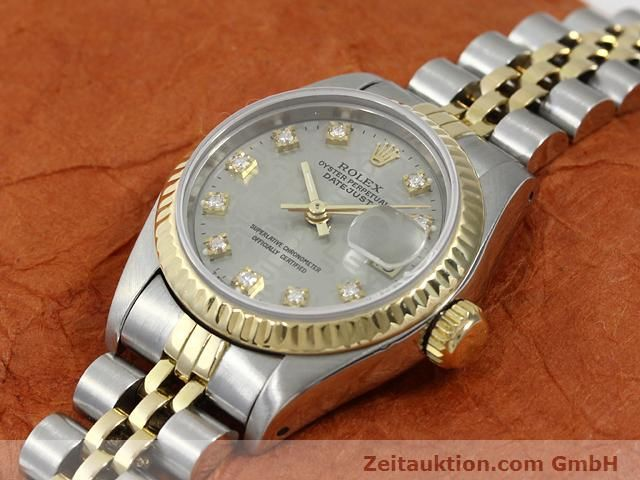 Used luxury watch Rolex Lady Datejust steel / gold automatic Kal. 2135 Ref. 69173  | 140098 01